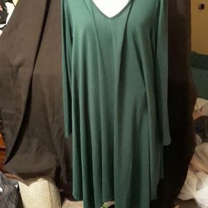 Green long sleeve 3x with shoes